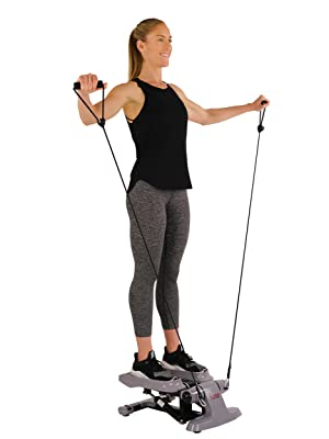 best steppers with resistance bands