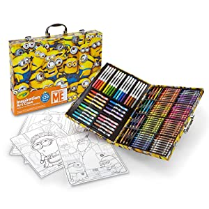 Crayola Despicable Me Inspiration Art Case - Portable Art Studio