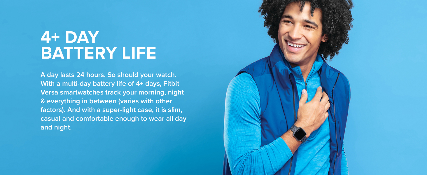 Fibit Versa Lite Fitness Smartwatch