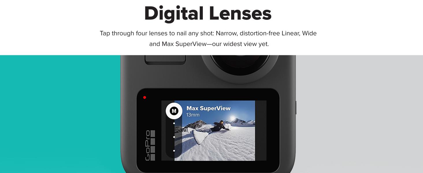 GoPro Dijital Lensler