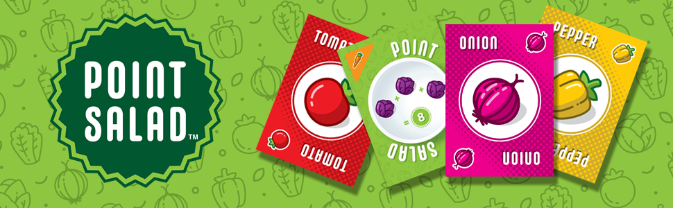 Amazon.com: Alderac Entertainment Group (AEG) Point Salad Card Game: Toys &  Games