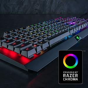 Razer BlackWidow X Chroma: Esports Gaming Keyboard - Military Grade Metal  Construction - Durable up to 80 Million Keystrokes - Powered by Razer  Chroma