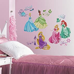 Disney Princess Peel And Stick Wall Decals, Peel And Stick Wall Decals