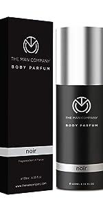 Noir Body perfume, deo