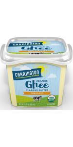 Carrington Farms Organic Ghee Clarified Butter