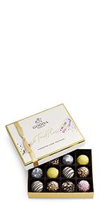 Godiva Chocolatier Birthday Truffles Gift Box
