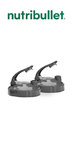 NutriBullet Set of 2 Flip Top Lids