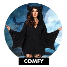 comfy cozy warm fleece costumes
