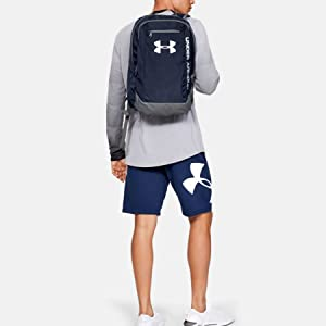c8d2bff7680 Under Armour Men's Hustle Ldwr Traditional Backpack: Amazon.co.uk ...