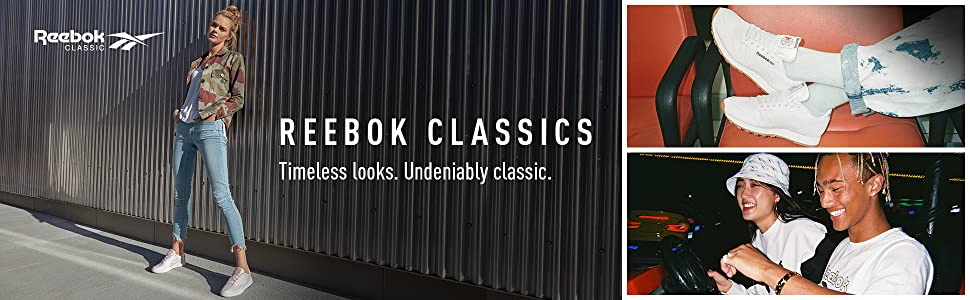 reebok classics - people wearing classics apparels and footwears