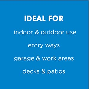 ideal for indoor and outdoor use