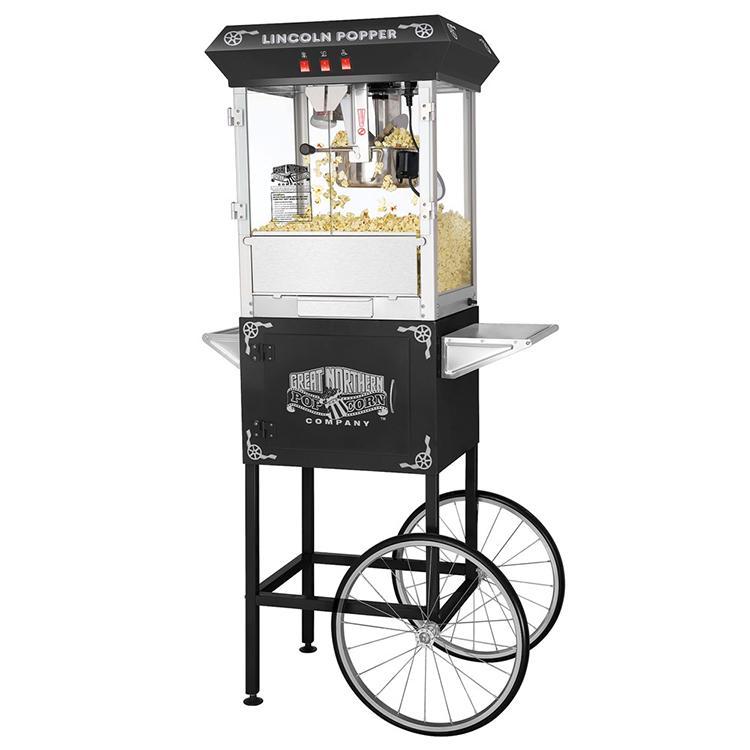 lincoln popper popcorn machine