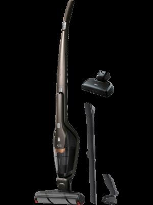 AEG QX8-1-45MP Aspiradora Escoba Sin Cable y de Mano Cepillo Mascotas y Extensible, hasta 45 Minutos, 2 Velocidades, Cepillo Motorizado efecto Abrillantador, Función Parking, Depósito 0.5L,Bronce: Amazon.es: Hogar