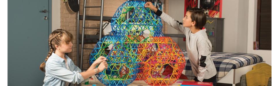Geomag, Magnetic Building Sets, COLOR, STEM Toys, Kids, Construction, STEAM, Learning