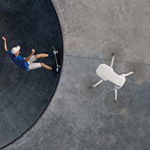 dji arya drone robot flying mode