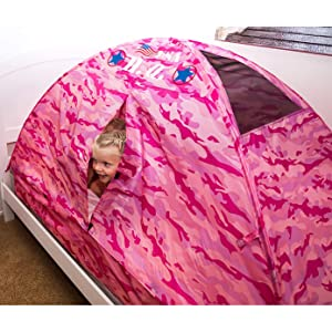 camouflage woodland army kids play bed tent
