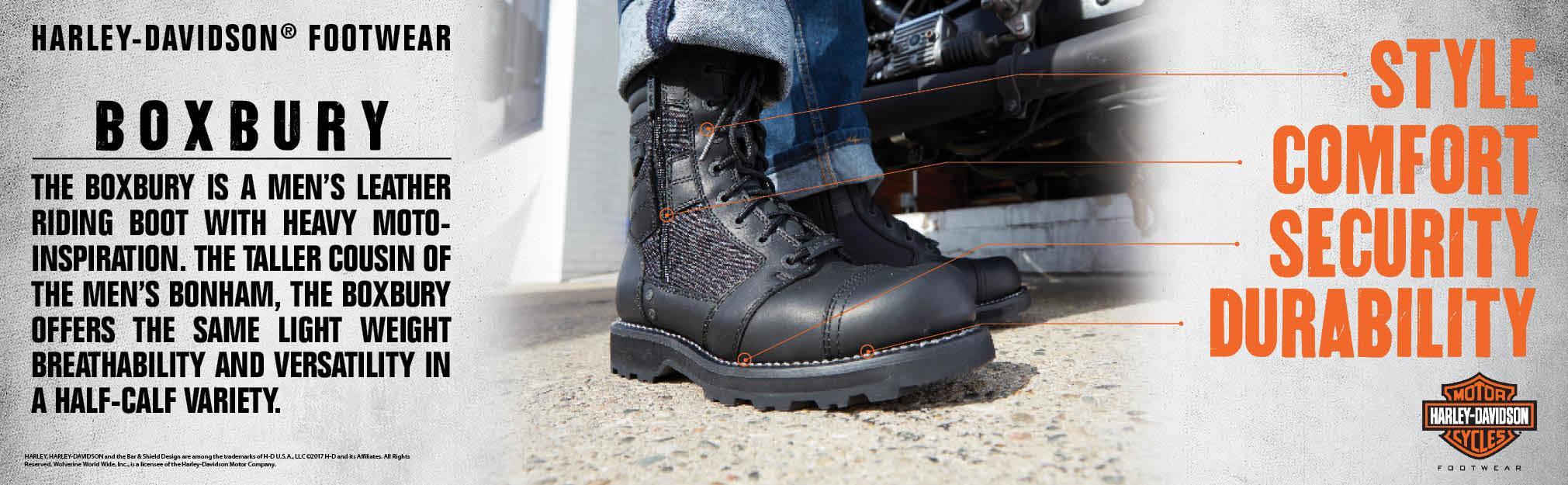5ff0cf7dab7 Harley-Davidson Men's Boxbury Work Boot