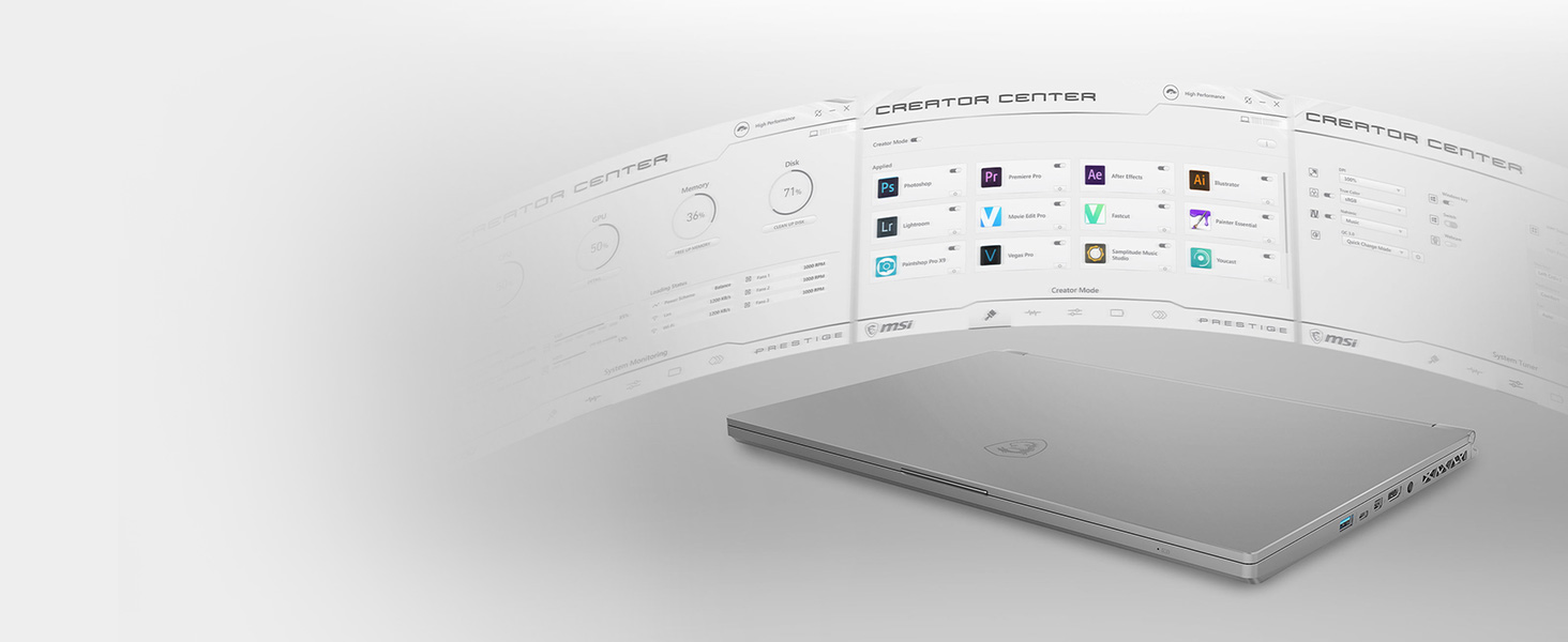 Creator Center, Optimize application