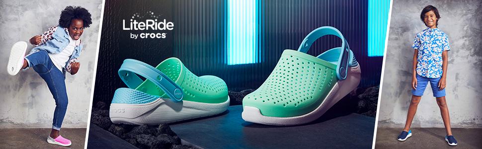 CROC Kids Literide Pacer Sneaker