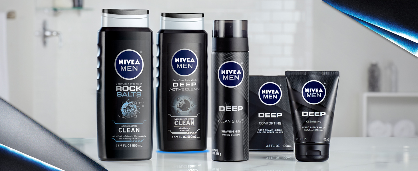Check out the whole Deep line NIVEA Men