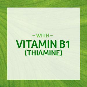 thiamine; vitamin b1; b1; vitamin b yeast; vitamin b12 500 mcg; vitamin b75 complex
