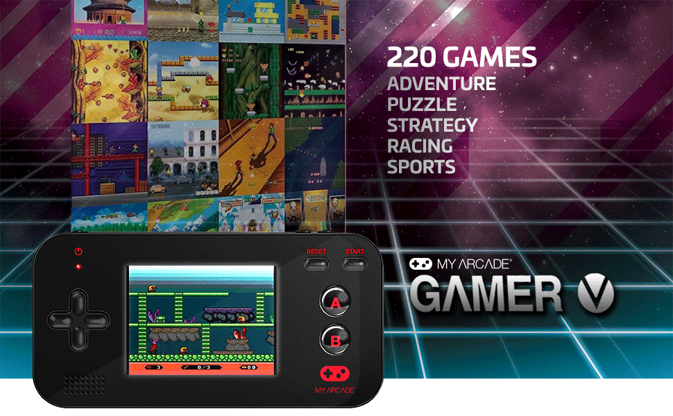 gamer v my arcade