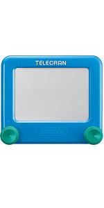Télécran Games Joustra - Machine à dessin - Ardoise magique - Mini-jeux - Jouet enfant