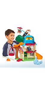 Amazon Com Just Play Puppy Dog Pals House Playset Multicolor Toys