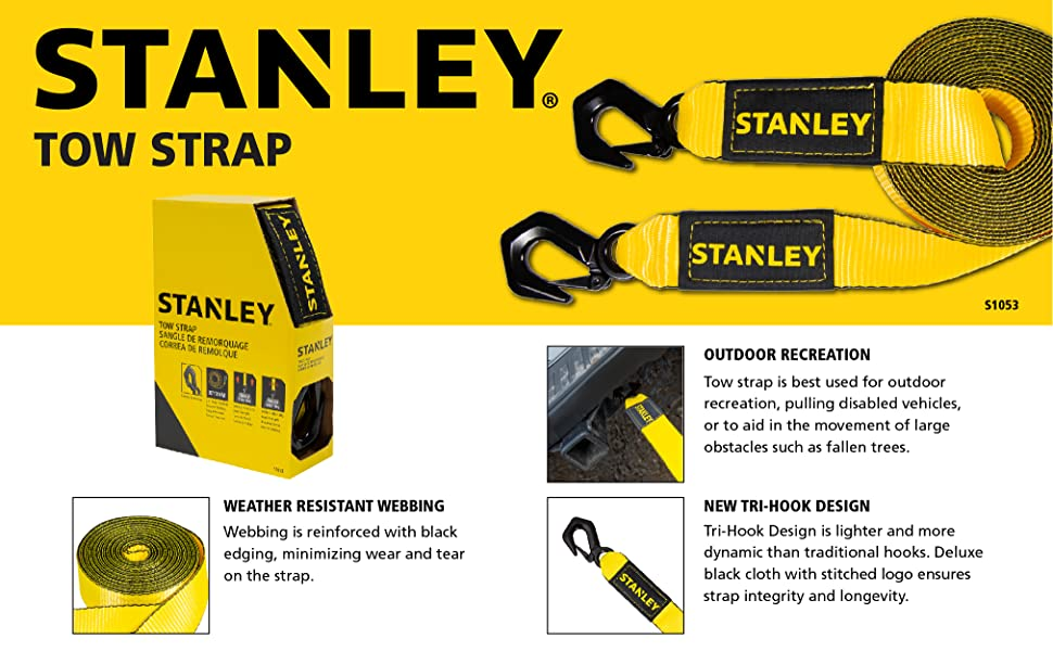 Stanley S1053, tow strap