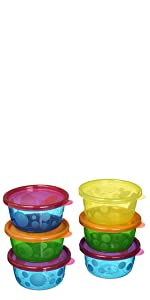 Take & Toss Toddler Bowls with Lids