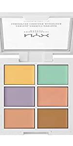 conceal correct contour color correcting palette, nyx, NYX Cosmetics