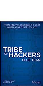tribe of hackers, cybersecurity, hacking, marcus j. carey, jennifer jin, blue team