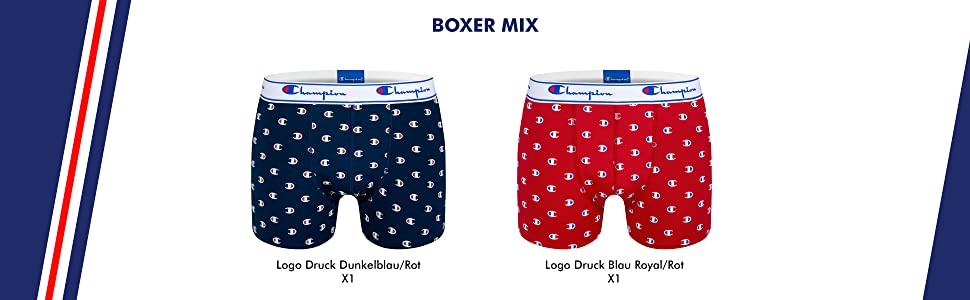 Champion Herren Boxershorts 4er Pack
