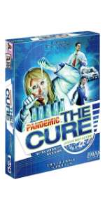 Pandemic The Cure board game