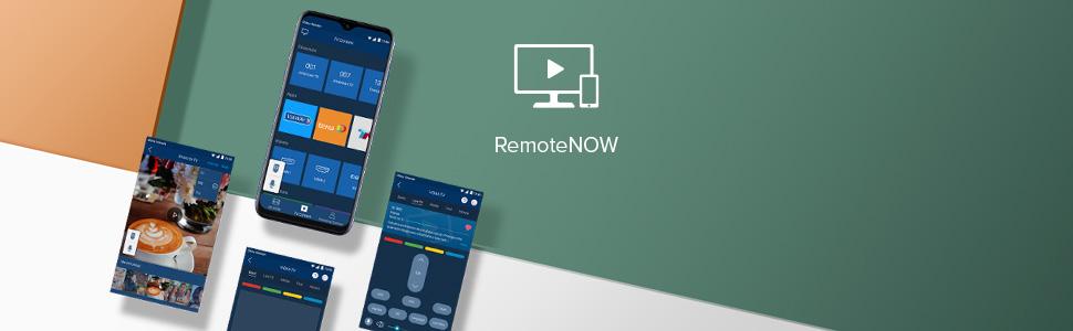 remote now app smartphone