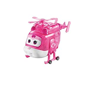 """5/"""" Scale Auldey US710230A Limited Edition Bot Super Wings Transforming Jerome Toy Figure X-Ray Series Plane"""