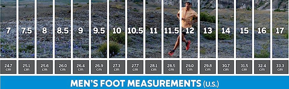 Montrail Men's Trail Running Shoe sizing