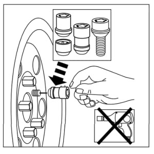 Install McGard Wheel Lock