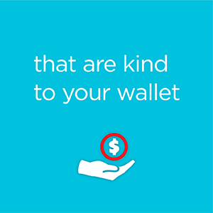 that are kind to your wallet