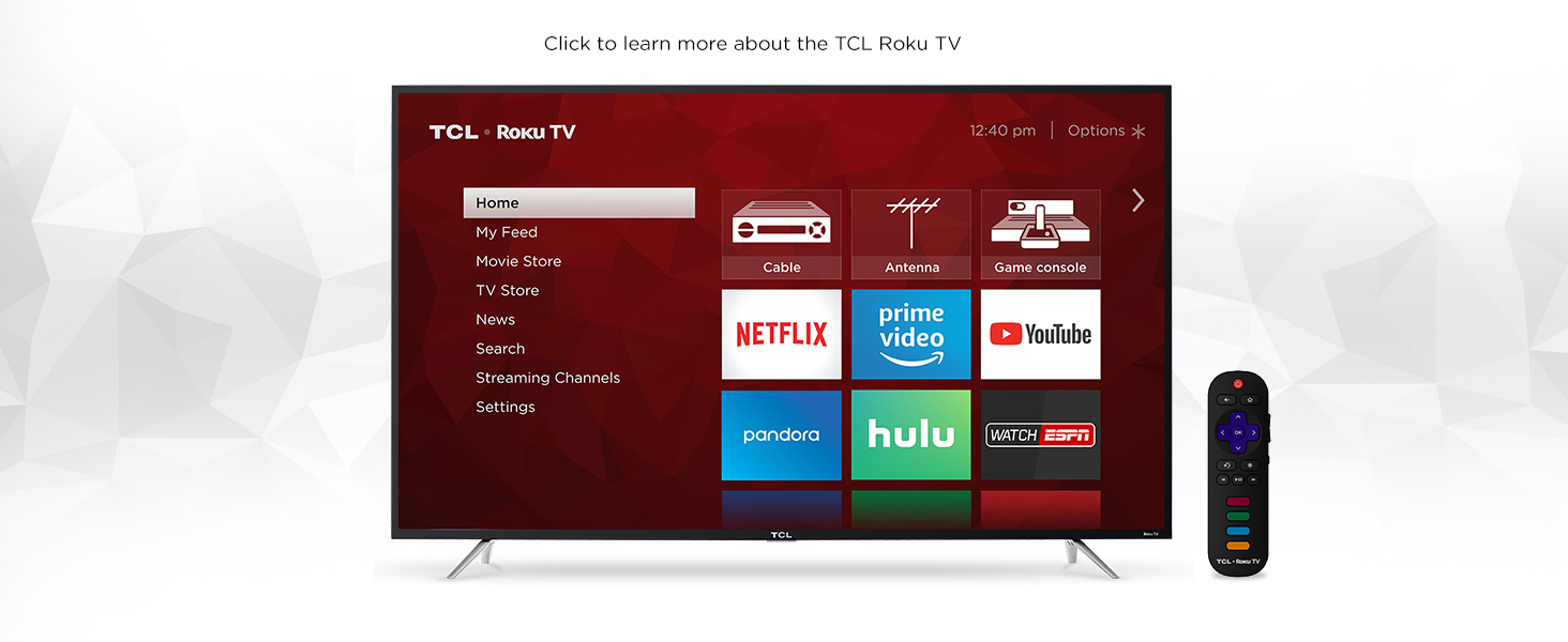 Tcl 49s405 49 Inch 4k Ultra Hd Roku Smart Led Tv 2017 Working Of 3 D 4 Series