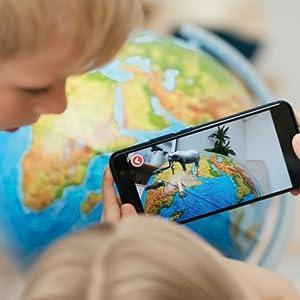 globus;smartphone;handy;3D;app;iq;globe