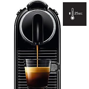 fast heat up coffee machine