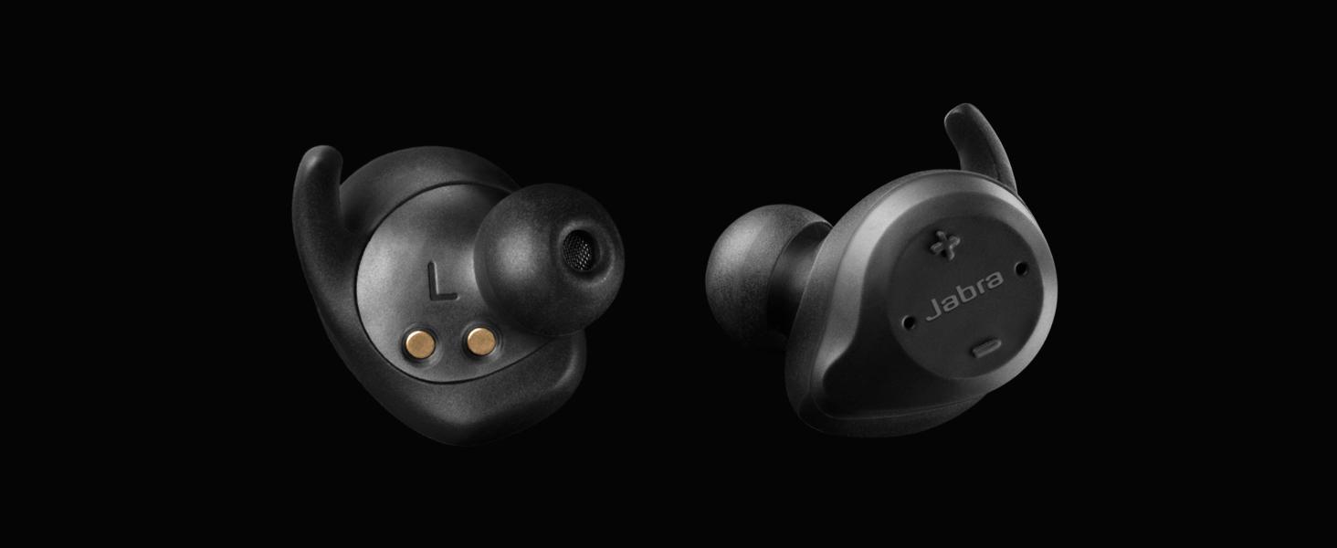 Jabra Elite Sport True Wireless Waterproof Fitness & Running Earbuds with Heart Rate Monitor