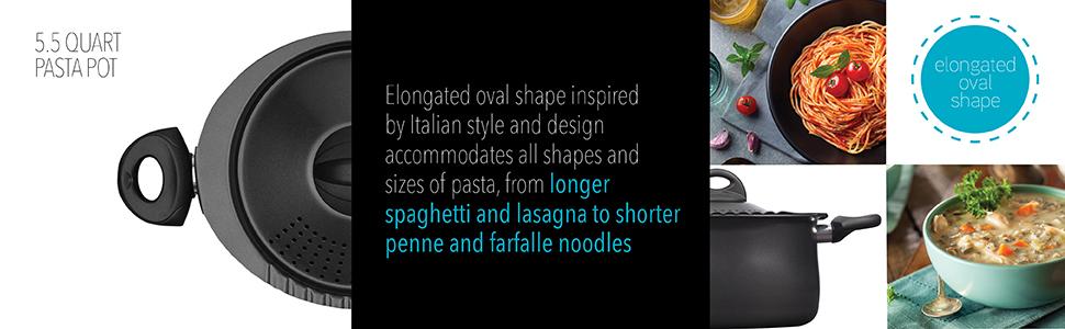 bialetti pasta pot cooking baking kitchen cookware cookware set