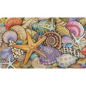 colorful;beach;seashell;shell;conch;sea star;star;starfish;summer;sand