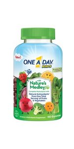 One A Day Womens With Natures Medley, One A Day Mens With Natures Medley, One A Day Kids With Natures Medley, One A Day Womens VitaCraves Gummies