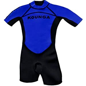 Kounga Deep Water Shorty Traje de Surf, Unisex niños
