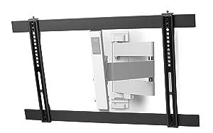ultra slim tv wandhalterung von one for all drehen und elektronik. Black Bedroom Furniture Sets. Home Design Ideas