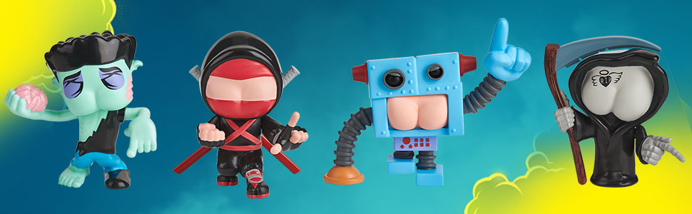 Amazon.com: WowWee Buttheads - Brainfart (Zombie): Toys & Games