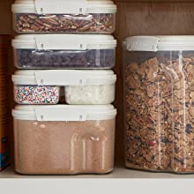 Sistema Bake IT Stackable storage for a variety of baking ingredients